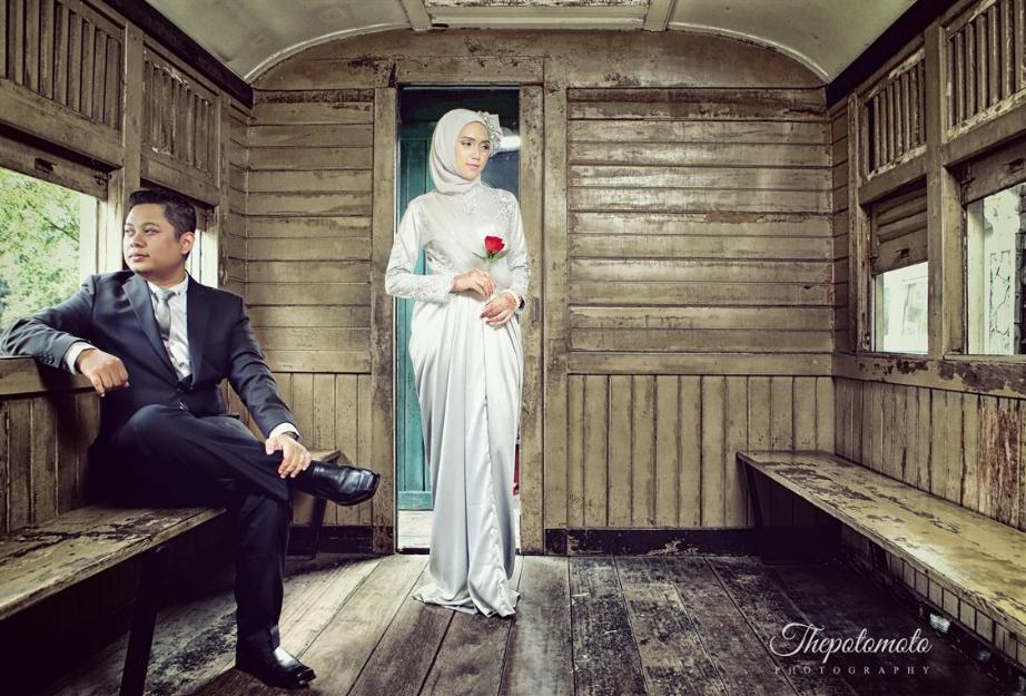 konsep foto prewedding unik
